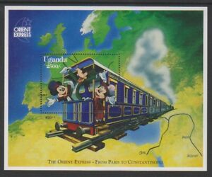 Uganda - 1996, Mickey's Orient Express, Disney sheet - MNH - SG MS1653b