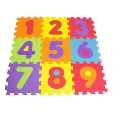 DARPEJE Numbers Floor Mat Puzzle with 9 Pieces (TTMZ003)