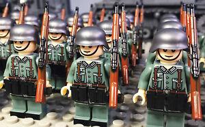 WW2 Axis Soldier Deutsche Minifigure Wehrmacht Lieutenant General Military