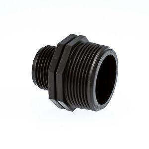 Reducing Nipple  Male x Male BSP Pipe Fittings Polypropylene (PP)