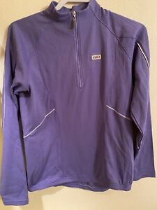 Louis Garneau Women's Edge 2 Long Sleeve Cycling Jersey Large Purple