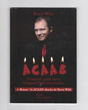 Livre magie Boris Wild : ACAAN / ACAAB - Any Card At Any Number / Any Birthday