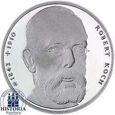 BRD 10 DM Robert Koch 1993 Silber Stempelglanz Münze in Münzkapsel