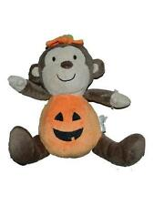 Just One You Carters Monkey Pumpkin Plush Baby Toy Stuffed Animal Lovey 8""