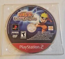 Naruto: Uzumaki Chronicles (Sony PlayStation 2, 2006) DISC ONLY NO CASE