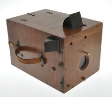 Delta Krugener early 1893 wood detective camera Big Size (Ultrarare) 13x18cm