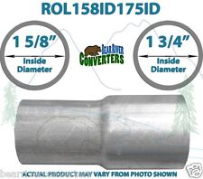 """1 5/8"""" ID to 1 3/4"""" ID Universal Exhaust Pipe to Pipe Adapter Reducer"""