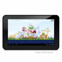 """EMATIC GENESIS 7"""" GOOGLE ANDROID 4.0 MULTIMEDIA TABLET W/ FRONT WEB CAM & WI-FI"""