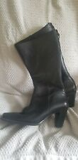 Women's Unisa High Heel Shoes Boots Leather Size 6B