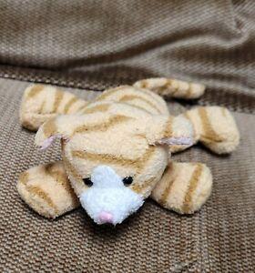 "Russ Tabbies Luv Pets Tabby Cat 5"" Plush Stuffed Orange Stripe Kitten Small Love"