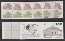 IRELAND 1988 MNH £2 Stamp Booklet Courthouse, Cork - Architecture - (184h)