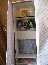 Gorgeous-Danbury Mint-Porcelain Cinderella doll by Judy Belle-Never Removed Nrfb