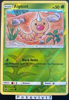 Carte Pokemon ASPICOT 1/111 REVERSE Soleil et Lune 4 SL4 FR NEUF