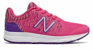 New Balance Kid's 519v2 Big Kids Female Shoes Pink with Purple