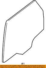 Ford Oem Glass-Rear-Door Window Left 8L8Z7825713A