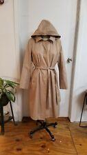 Anne Klein Tan Trench Coat L