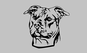 Staffordshire Bull Terrier- Steel Metal Garden Wall Art