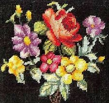 Completed, Micro Petit Point. Tiny Needlepoint. 40 Mesh