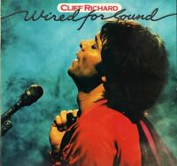 CLIFF RICHARD wired for sound EMC 3377 uk emi 1981 LP PS EX/EX with inner sleeve