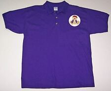 3X POLO PURPLE SHIRT W/ ADORABLE BEAR WEARING HER RED HAT FOR LADIES OF SOCIETY