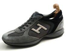 Hogan  sneakers, gray suede , men's shoe size US 10 EU 43 $450