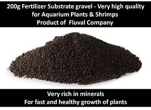 200g Fluval Aquarium Plants Fertilizer Substrate Shrimps grow gravel fertilizer