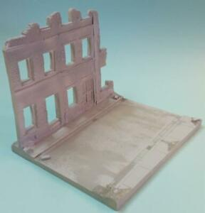 1/35 scale Diorama Base and buildings model kit #1