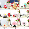 3D Pop Up Cards Valentine Lover Happy Birthday Anniversary Greeting Card Gift US