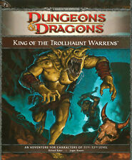 P1 rey de los trollhaunt Warrens para 4th Edición de D&D Dungeons & Dragons ()