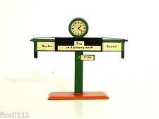 Fahrtrichtungsanzeiger m.Uhr passend zur Bing,Märklin Bahn,30er Jahre,TOP