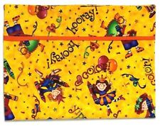Toddler Pillowcase for Crayons on Yellow 100%Cotton #S6 New Handmade
