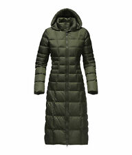 The North Face Women's TRIPLE C II PARKA 550-Fill Down Long Jacket Coat Green M