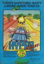 Hyper Circuit Alligata Software 1985 Vintage Magazine Advert #7726