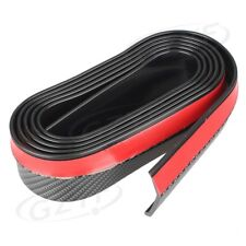 Universal Front Bumper Rubber Lip Splitter Chin Spoiler Body Kit Trim 2.5m