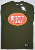 New w/ Tags Hustle Brand Mens Short Sleeve T-Shirt Green Hustle Philly Tee NWT
