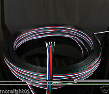 10M 5Pin Wire 12mm RGBW RGBWW Extention Cable For LED Strip Light 5050 Ribbon