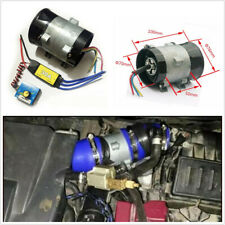 12V 16.5A Thick Wire Car Electric Turbine Power Turbo Charger+Brushless 30A ESC