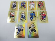 2019-20 TIM HORTONS Gold Etchings Complete Set 10 cards