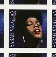 Sarah Vaughan Pane of 16 Forever Postage Stamps Scott 5059