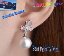 Butterfly Pearl Unbranded Fine Earrings