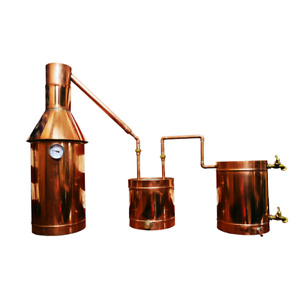6 Gallon Copper Moonshine/Liquor Still - Complete