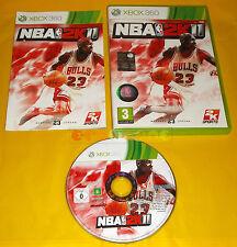 NBA 2K11 XBOX 360 Versione Ufficiale Italiana 1ª Edizione ○○ COMPLETO - AI