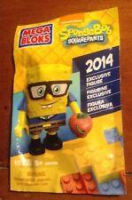 NYCC NEW YORK COMIC CON 2014 EXCLUSIVE MEGA BLOKS SPONGEBOB SQUAREPANTS NEW