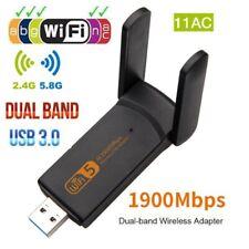 Dual Band 1900Mbps 2.4G / 5.8G Hz Wireless Lan Card USB PC WiFi Adapter 802.11AC