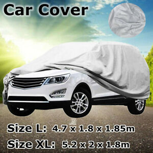 Waterproof Full Car SUV Cover Outdoor UV Snow Dust Rain Resistant Protection USA