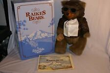 Robert Raikes 5463 Lindy New With Tags with Coa 12 in. Authentic Plush Bear