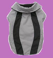 PetCo Reflective Sport Jacket GRAY Dog Coat Large XL Black Grey Stripe NEW Extra