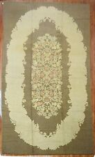 Antique HUGE American Hook Hooked Rug Size 11'3''x21'7''