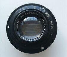Rare Carl Zeiss Jena Tessar 10,5cm f/3.5 Medium Format Lens