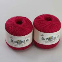 AIP Thread No.8 Cotton Crochet Yarn Craft Tatting Hand Knit Embroidery 50grX2 17
